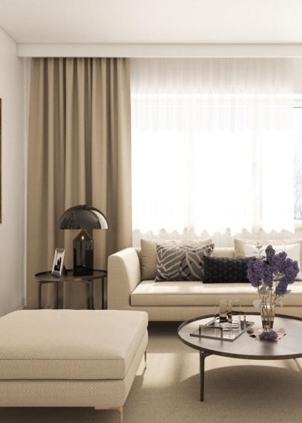 Living Room Curtains Abu Dhabi